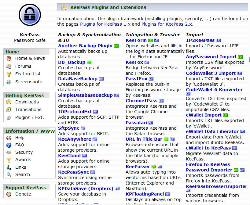 Meet KeePass, a Perfect Piece of Software | JediMercer com